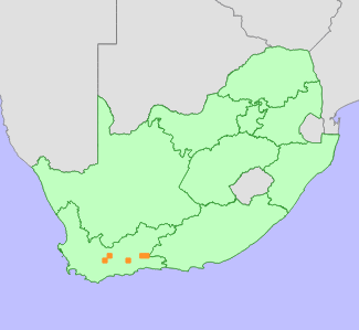 Distribution map